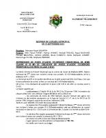 Conseil Municipal du 19 09 2014