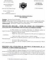 Conseil municipal du 19 05 2016