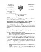 Conseil municipal du 29 06 2016